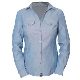 BLEED CHAMBRAY SHIRT