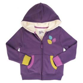 *KITE KIDS FLEECE-HOODIE PURPLE