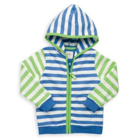*KITE BABY ZIP HOODY STRIPY