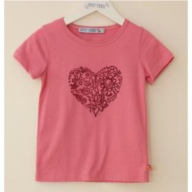 *ENFANT TERRIBLE T-SHIRT HERZ ROSA