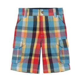 *FRUGI CHECK SHORTS MULTI