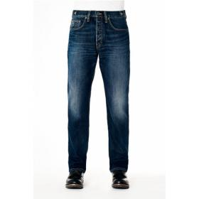 KUYICHI JEANS MATT LOOSE BASIC BLUE