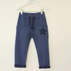 ENFANT TERRIBLE SWEATHOSE STERN BLAU