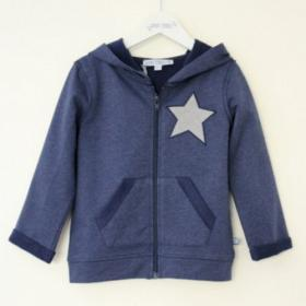 *ENFANT TERRIBLE SWEATSHIRT-JACKE STERN