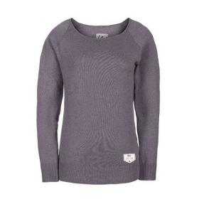 BLEED KNITTED JUMPER LADIES GREY