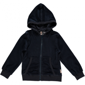 *MAXOMORRA ZIP-HOODY BLUE