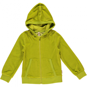 *MAXOMORRA ZIP-HOODY GREEN