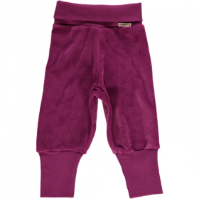 MAXOMORRA BABY VELOURS HOSE PURPLE