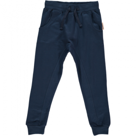 MAXOMORRA BAGGY PANTS BLUE