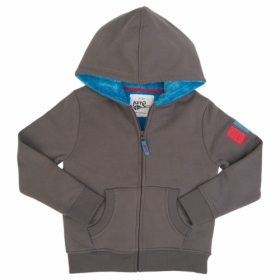 *KITE KIDS FLEECE-HOODIE GREY
