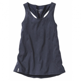 RECOLUTION TWISTED TANK TOP NAVY
