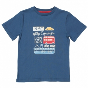 KITE KIDS T-SHIRT CITY TRAVEL