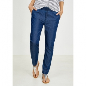 RECOLUTION SLIM PANTS DENIM