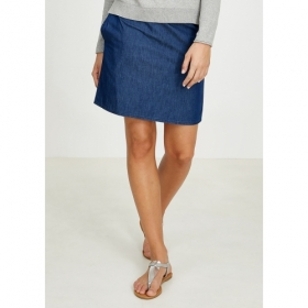 RECOLUTION MINI SKIRT DENIM