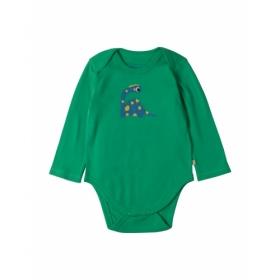FRUGI BABY BODY DINO GRÜN