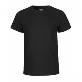 NEUTRAL KIDS T-SHIRT SCHWARZ