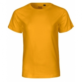 NEUTRAL KIDS T-SHIRT GELB
