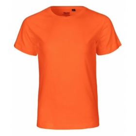 NEUTRAL KIDS T-SHIRT ORANGE
