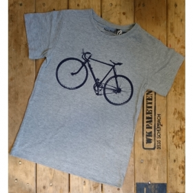 *NEUTRAL KIDS T-SHIRT GRAU VELO