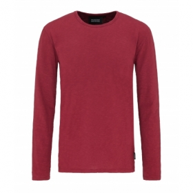 RECOLUTION HEAVY LONGSLEEVE BASIC RED