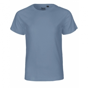 *NEUTRAL KIDS T-SHIRT DUSTY BLUE