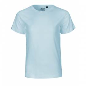*NEUTRAL KIDS T-SHIRT HELLBLAU