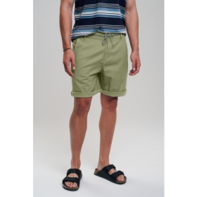RECOLUTION CANVAS SHORTS OLIVE