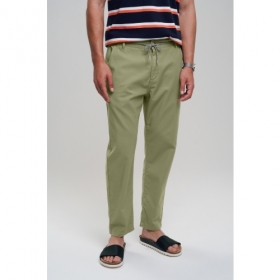 RECOLUTION CANVAS PANTS OLIVE