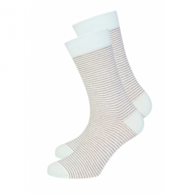 RECOLUTION BASIC SOCKEN #STRIPES GREY/..