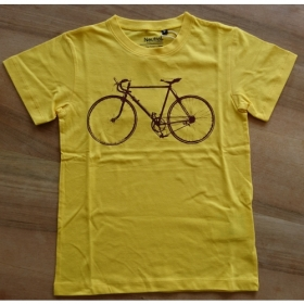 *NEUTRAL KIDS T-SHIRT GELB VELO