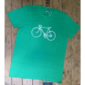 *NEUTRAL T-SHIRT GRÜN VELO