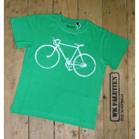 *NEUTRAL KIDS T-SHIRT GRÜN VELO