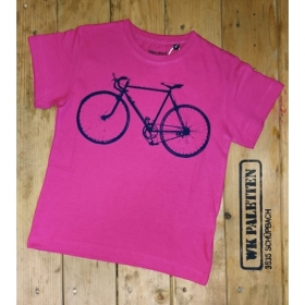 *NEUTRAL KIDS T-SHIRT PINK VELO
