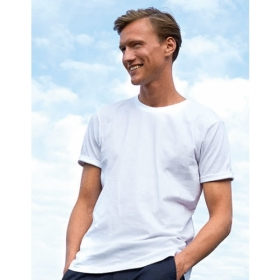 *NEUTRAL ROLL-UP T-SHIRT WHITE