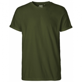 *NEUTRAL ROLL-UP T-SHIRT OLIVE