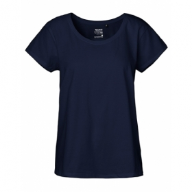 *NEUTRAL LOOSE FIT T-SHIRT NAVY
