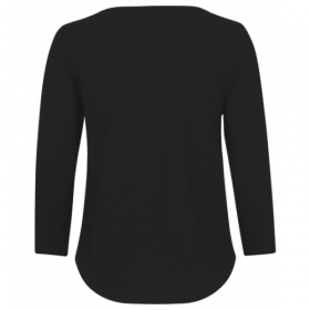 *NEUTRAL 3/4ARM SHIRT BLACK