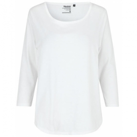 *NEUTRAL 3/4ARM SHIRT WHITE