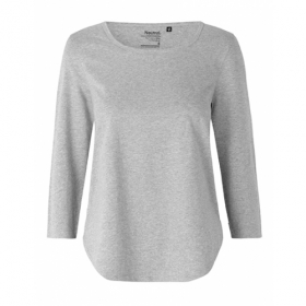 *NEUTRAL 3/4ARM SHIRT GREY