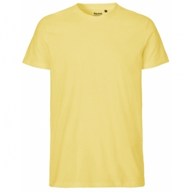 *NEUTRAL MENS FIT T-SHIRT DUSTY YELLOW