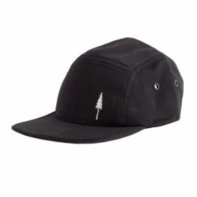 NIKIN TREE-CAP 5PANEL KIDS BLACK