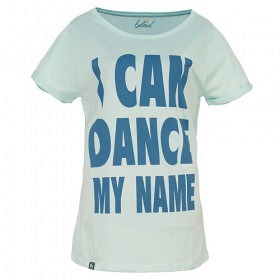 BLEED TEE I CAN DANCE MY NAME SKY