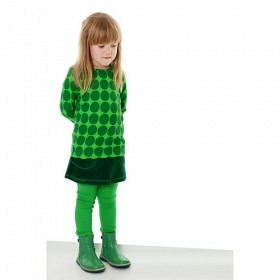 DUNS FROTTEE JUPE GREEN