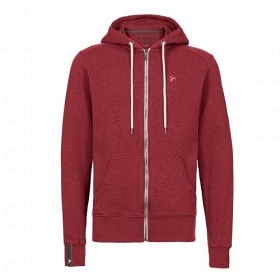 RECOLUTION BASIC ZIPPER DARK RED