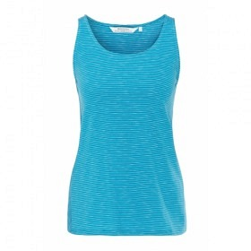 RECOLUTION CASUAL TOP #STRIPES MOSAIC BLUE